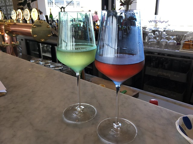 Afternoon wines - Devon On The Wharf