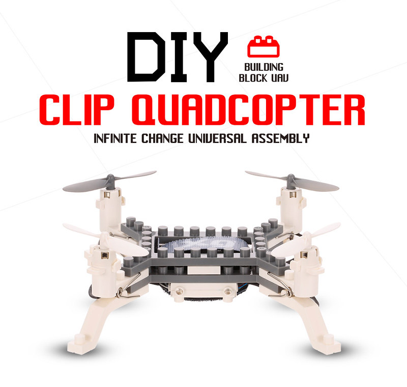XG171 DIY Building Block Drone (2)
