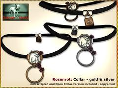 Bliensen - Rosenrot - Collar