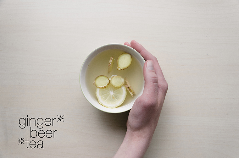 ginger tea recipe receta