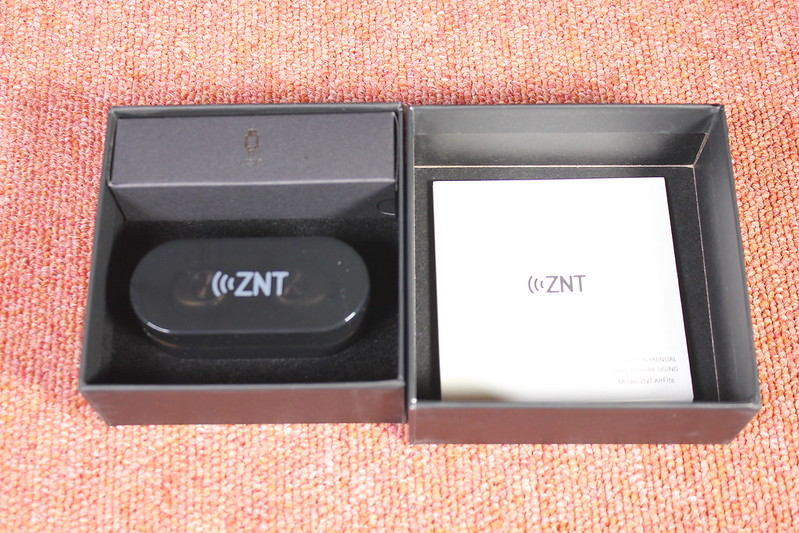 ZNT Air Fits 完全ワイヤレスイヤホン 開封レビュー (6)