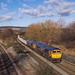 66773+66760 David Gordon Harris At Tapton Junction. 09/02/2018