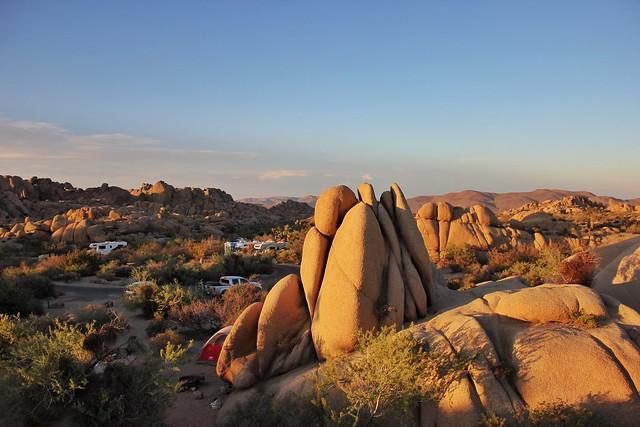 Jumbo Rocks. Joshua Tree