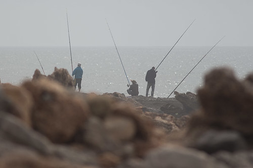 rock fishermen