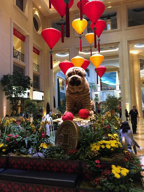 Las Vegas - Wynn year of the dog