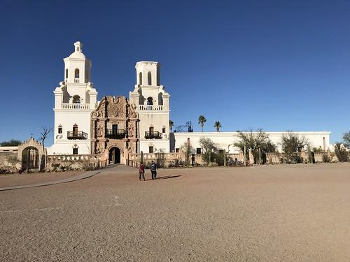 Tucson San Xavier del Bac Mission full