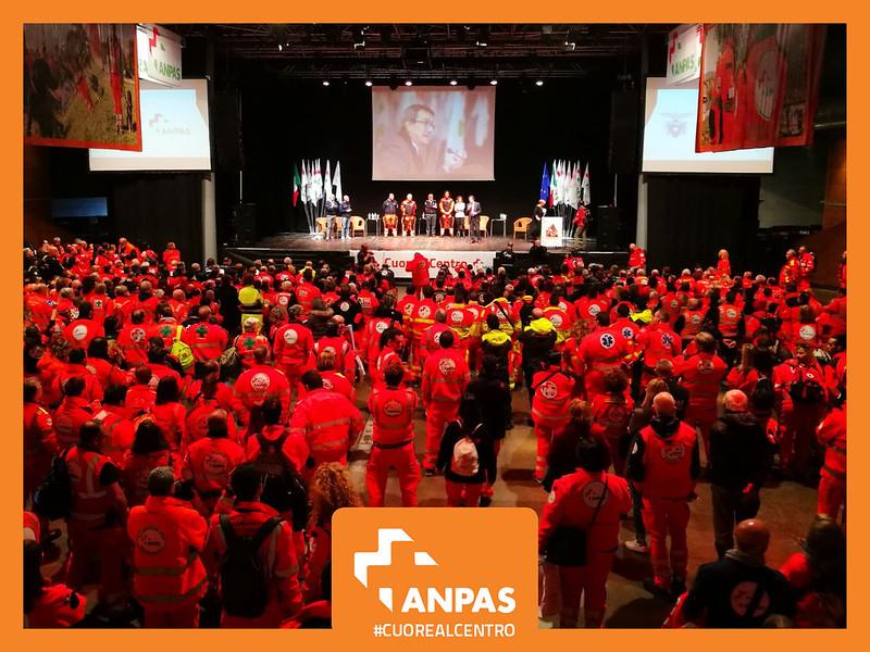 Cuore al centro: l'incontro nazionale dei volontari Anpas 14 gennaio 2018, Firenze