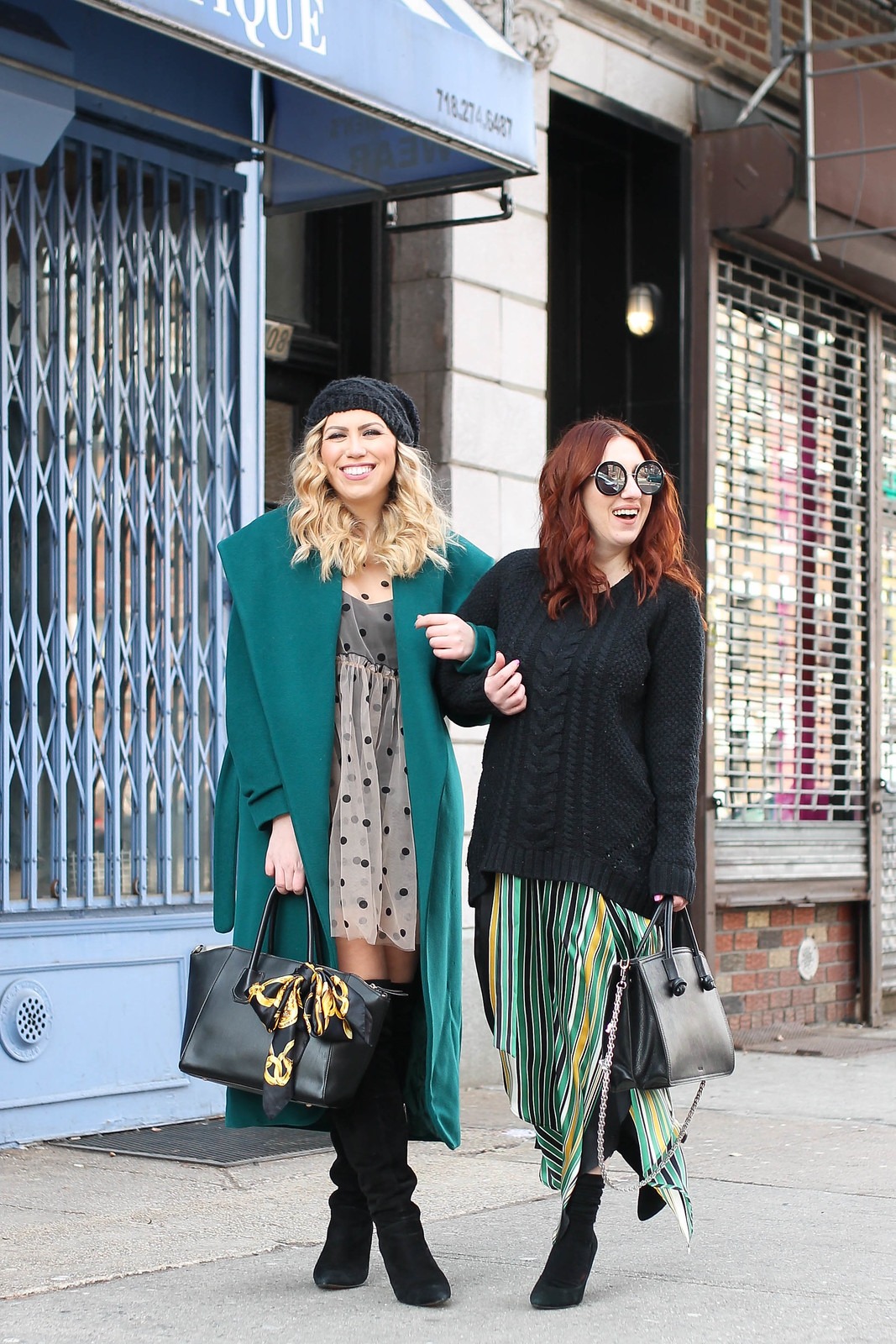Green is the Color of Growth Green Winter Style Outfits Fashion