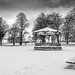 The Bandstand in the Snow (Mono).