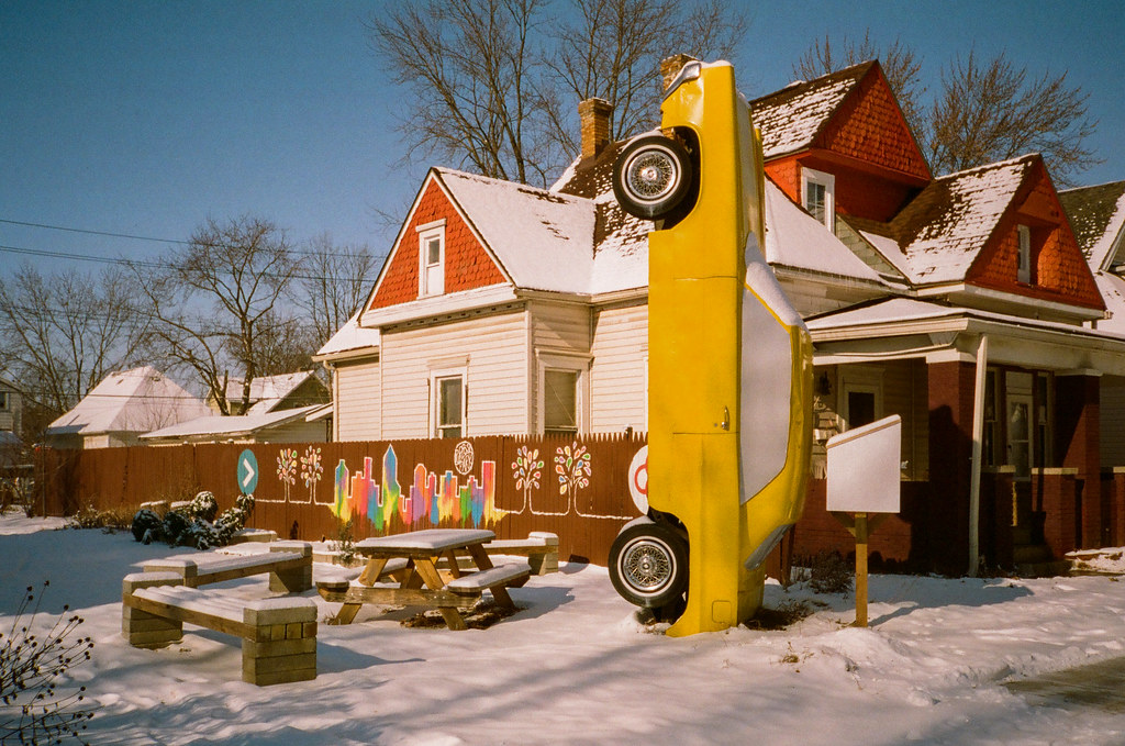 Pocket park, Hawthorne, Indianapolis