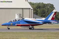 E41 4 F-TERA - E41 - Patrouille de France - French Air Force - Dassault-Dornier Alpha Jet E - RIAT 2010 Fairford - Steven Gray - IMG_9772
