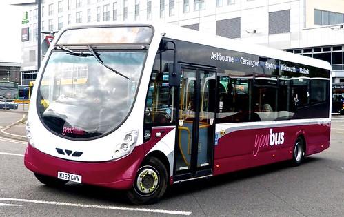 MX62 GVV 'yourbus' No. 1204 Wright Streetlite W/F  on 'Dennis Basford's railsroadsrunways.blogspot.co.uk'