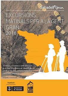 Excursions per a la Gent Gran - matinals 2018