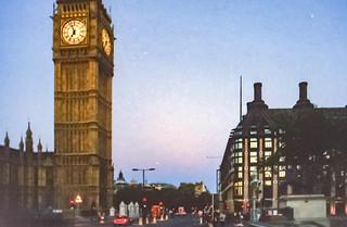 5.10.2003 London to Brighton, Big Ben auf dem Weg zum Start