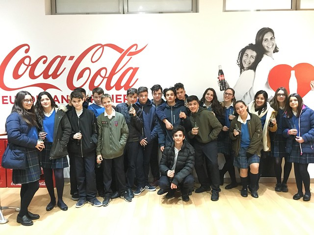 Visita a CocaCola