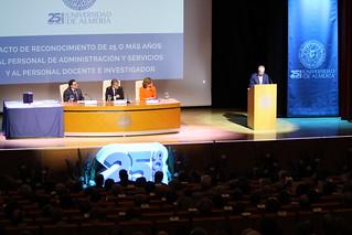 Acto Homenaje 25 Años de Servicio a PAS y PDI  (204)