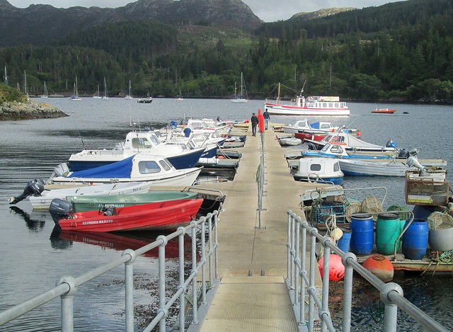 Jetty at Plockton
