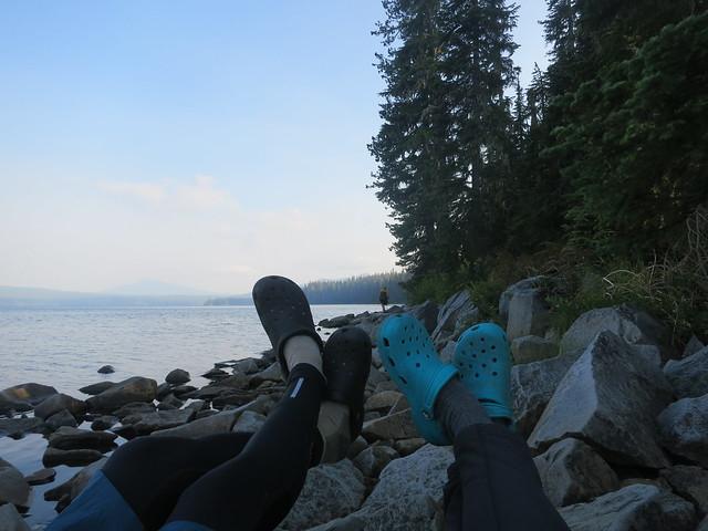 2017 NST: Hike and Kayak Waldo Lake 1