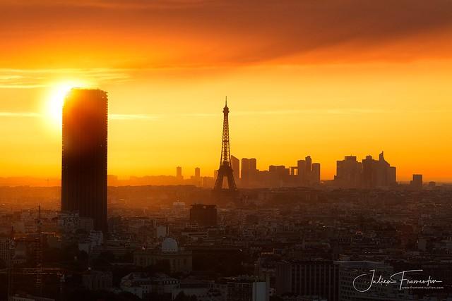 Tour Montparnasse, Tour Eiffel & La Défense, Paris