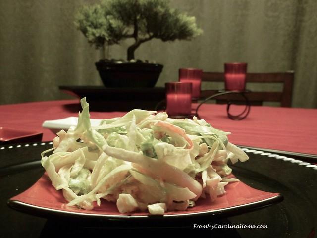 Asian Salad at From My Carolina Home