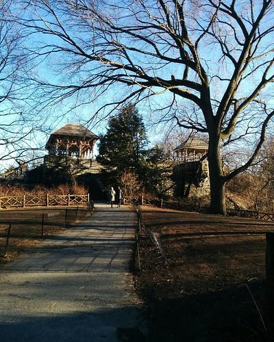 Belvedere Castle (1) #newyorkcity #newyork #manhattan #centralpark #belvederecastle #winter #latergram