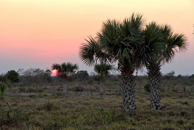 Sunset on Yucatan