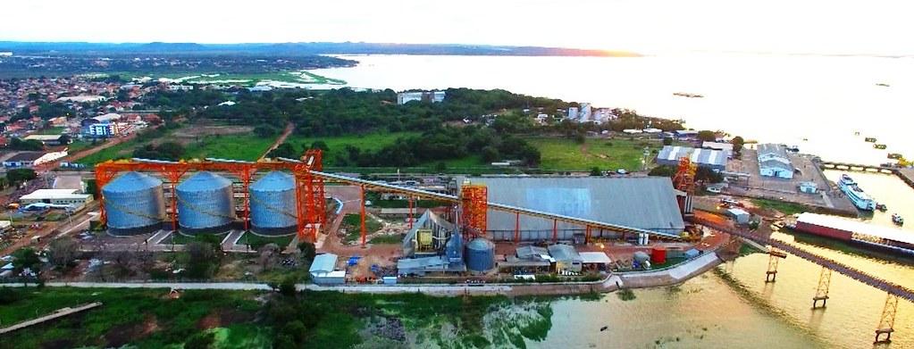 4 números sobre a concessão de áreas do Porto de Santarém para iniciativa privada, Soja em Santarém. Porto da Cargill