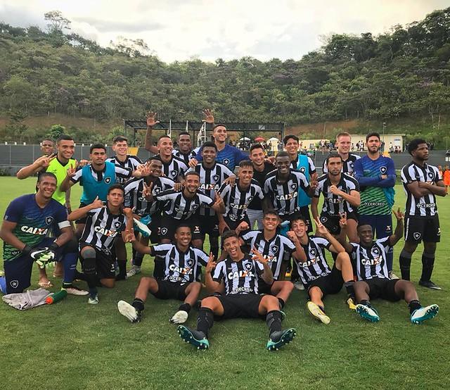 Sub-20 classificado para a decisão da Taça Guanabara