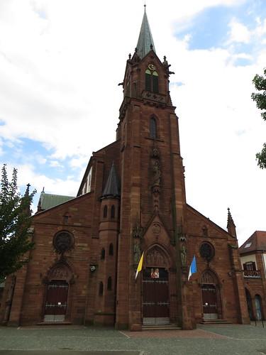 20140804 02 491 Jakobus Marienthal Kirche Turm Fassade Portal