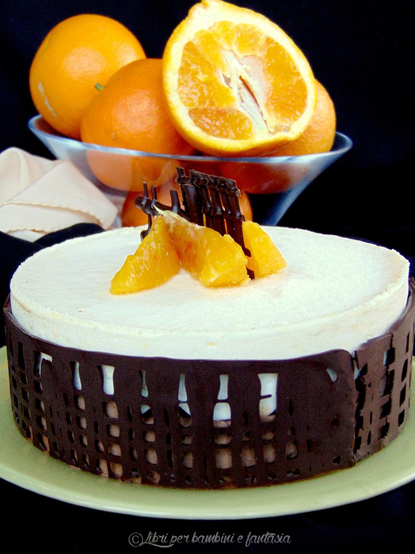 torta mousse cioccolato e arancio