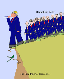 Trump the Pied Piper...