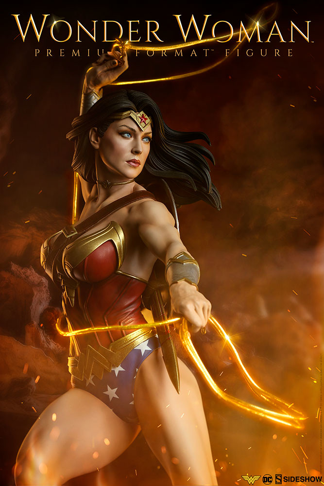 既優美又強悍的女神~! Sideshow Collectibles Premium Format Figure 系列 DC Comics【神力女超人】Wonder Woman 1/4 比例全身雕像作品