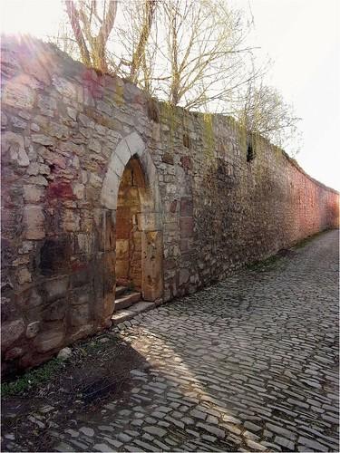 Alte Stadtmauer.
