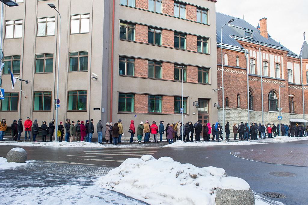 EV100 müntide müük Eesti Pangas