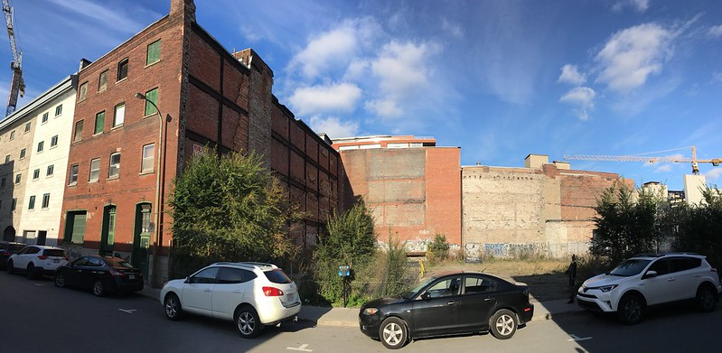 Old buildings on Queen street 2 - panoramic
