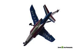 E46 5 F-UHRF - E46 - Patrouille de France - French Air Force - Dassault-Dornier Alpha Jet E - RIAT 2014 Fairford - Steven Gray - IMG_3358