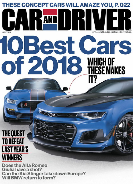 Image of Car and Driver 1/2018