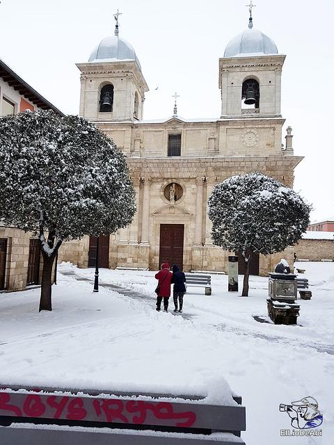 Por fin, nieva este año en Briviesca  (3)