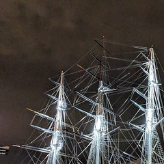Cutty Sark by night. #Latergram
