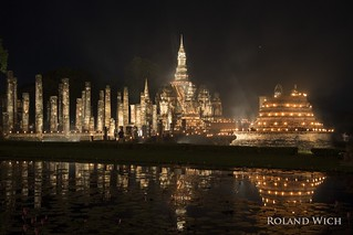 Sukhothai - Loy Krathong Festival