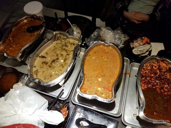 Sichuan Kungfu Fish hot trays