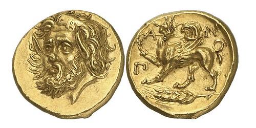 gold stater of Pantikapaion