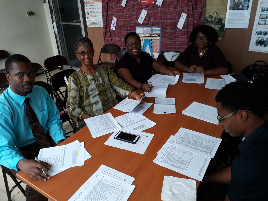 2018-1-18 Caribbean: Training curriculum for domestic workers meeting