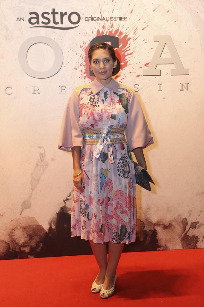 Hannah Al Rashid sebagai Zsa Zsa, orang kanan Marco