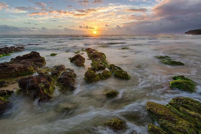 Sunrise at Coolum
