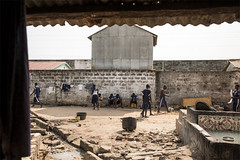Inside the notorious Mile 2 prison, Banjul, The Gambia . Exclusive image © Helen Jones-Florio