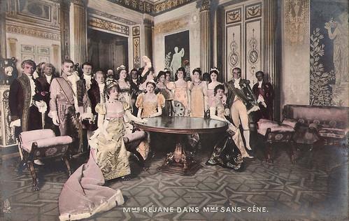 Gabrielle Réjane in Madame Sans Gene
