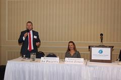 State Joe Polletta during the Waterbury Regional Chamber's 2018 Legislative & Economic Summit held at the Wyndham Southbury Hotel.