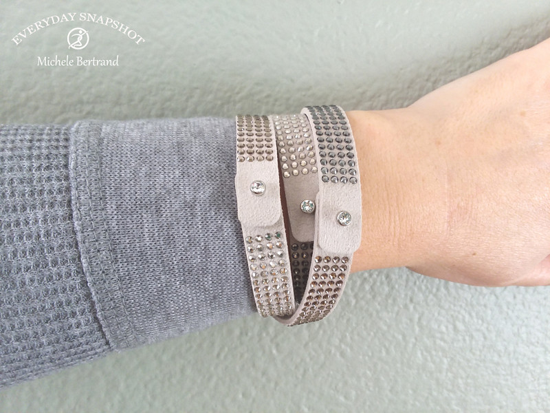 Tri Wrap Bracelet - Grey (14) copy