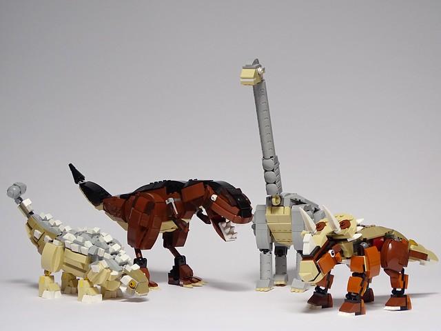 LEGO Dinosaurs, Sony DSC-HX400V, Sony 24-210mm F2.8-6.3